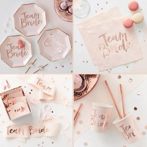 Rose Gold Bridal Shower Color Scheme Elegant Wedding Ideas