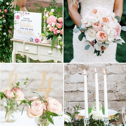 Romantic Garden Wedding Theme