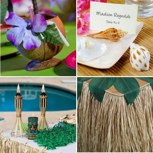 Island Vibe Themed Wedding