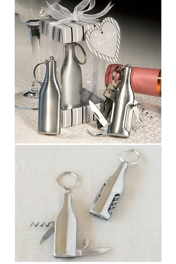 Bar Tools Keychain Wedding Favours