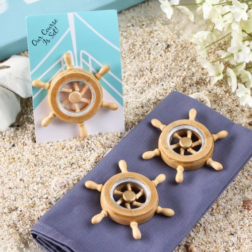 Boat Wheel Magnet Wedding Favours