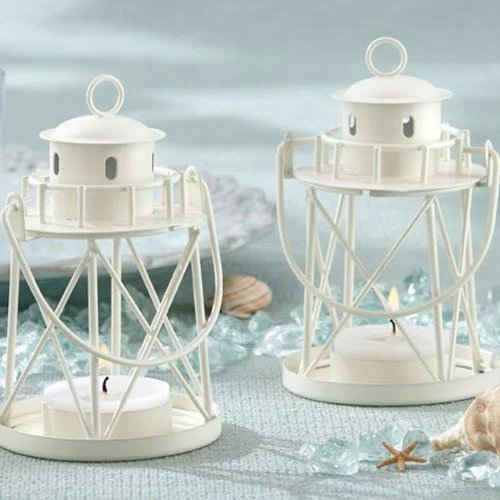 Lighthouse Tea Light Holder Wedding Favours