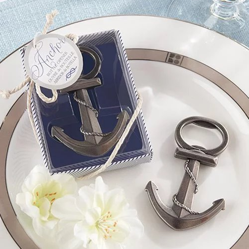 Nautical Bottle Opener Wedding Favours