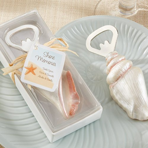 Sea Shell Bottle Opener Wedding Favours