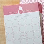 Bachelorette Party - Wedding Ring Bingo Game