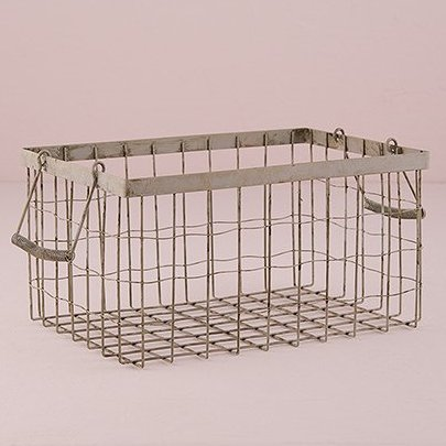 Wedding Candy Buffet Vintage Wire Basket