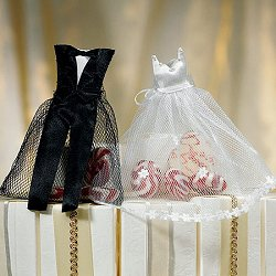 Wedding Favour Bride and Groom Candy Bags