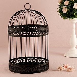 Wedding Reception Classic Round Birdcage Centrepieces