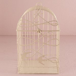 Wedding Reception Modern Birdcage Centrepieces