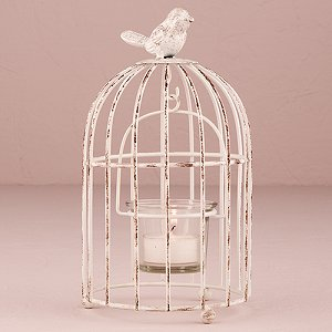 Wedding Reception Vintage Birdcage Centrepieces