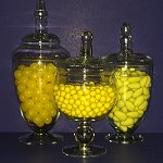 Wedding Candy Buffet Yellow Gold Colour Candy