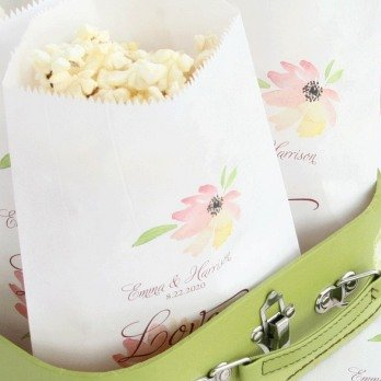 Wedding Favour Personalized Treat Bags