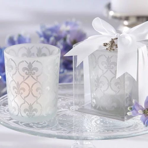 Votive Candles and Tealight Holder Wedding Favours