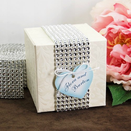 Wedding Favour Faux Jewels Roll