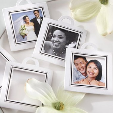 Wedding Favour Capture the Moment Photo Frame Tag