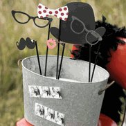 Wedding Reception Photo Booth Accessories