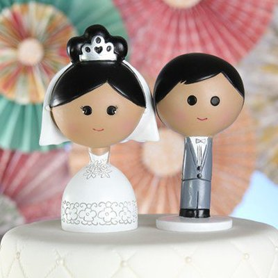 Wedding Reception Cake Topper