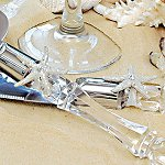 Wedding Cake Vintage Serving Set