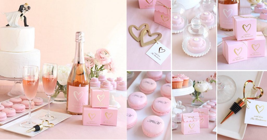Classic Heart Wedding Theme Favors and Supplies