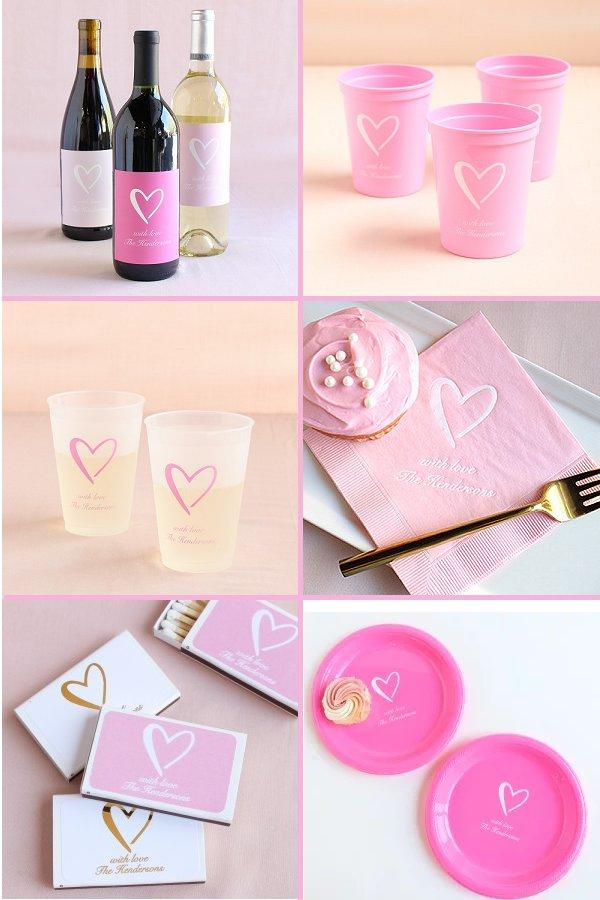 Classic Heart Wedding Theme Reception Supplies - WeddingConnexion.com