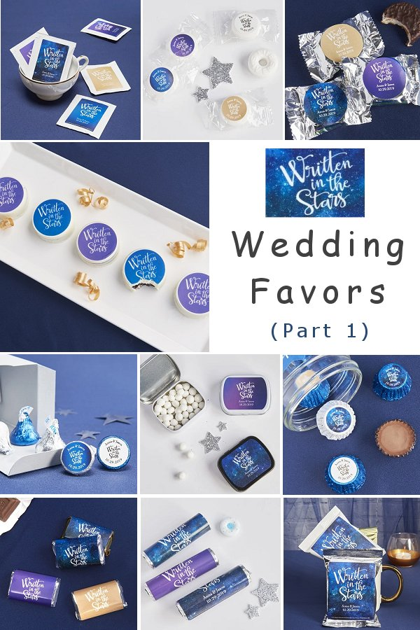 Written In The Star Edible Wedding Favors - Part 1 WeddingConnexion.com