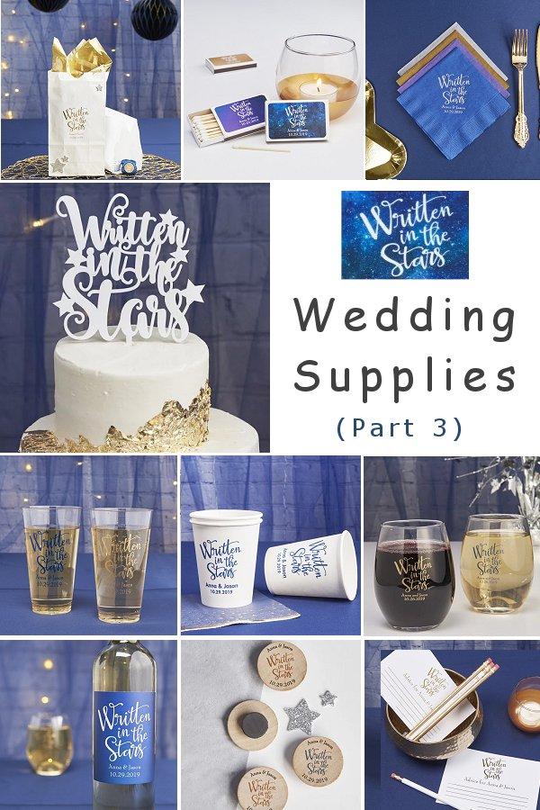 Written In The Star Wedding Supplies - Part 3 WeddingConnexion.com