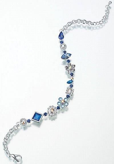 Something Blue Wedding Anklet