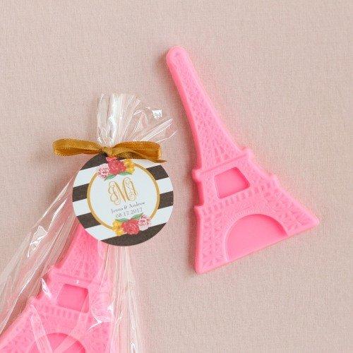 Parisian Chic Bridal Shower Eiffel Tower Soap Favors