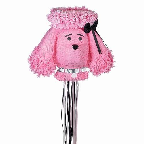 Parisian Chic Bridal Shower Pink Poodle Pinata