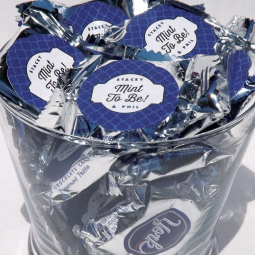 Personalized Round Wedding Favor Labels