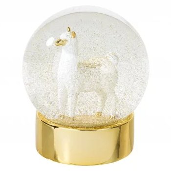 Boho Fiesta Bridal Shower Theme  Llama Snow globe