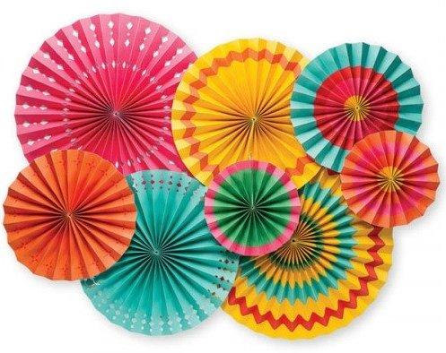 Boho Fiesta Bridal Shower Theme Fiesta Pinwheel Wall Decor