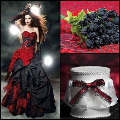Gothic Halloween Wedding Theme