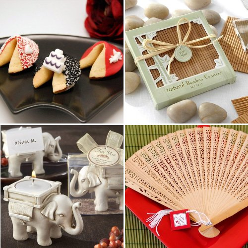 Asian Themed Wedding and Bridal Shower