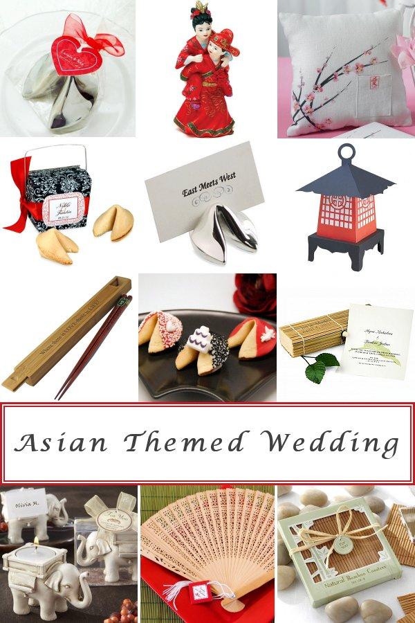 Asian Themed Bridal Shower and Wedding Ideas - WeddingConnexion.com