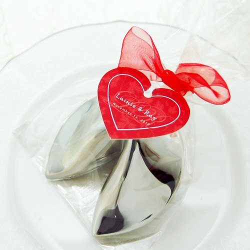 Asian Themed Wedding and Bridal Shower Chinese Fortune Cookies Keepsake Favor Box