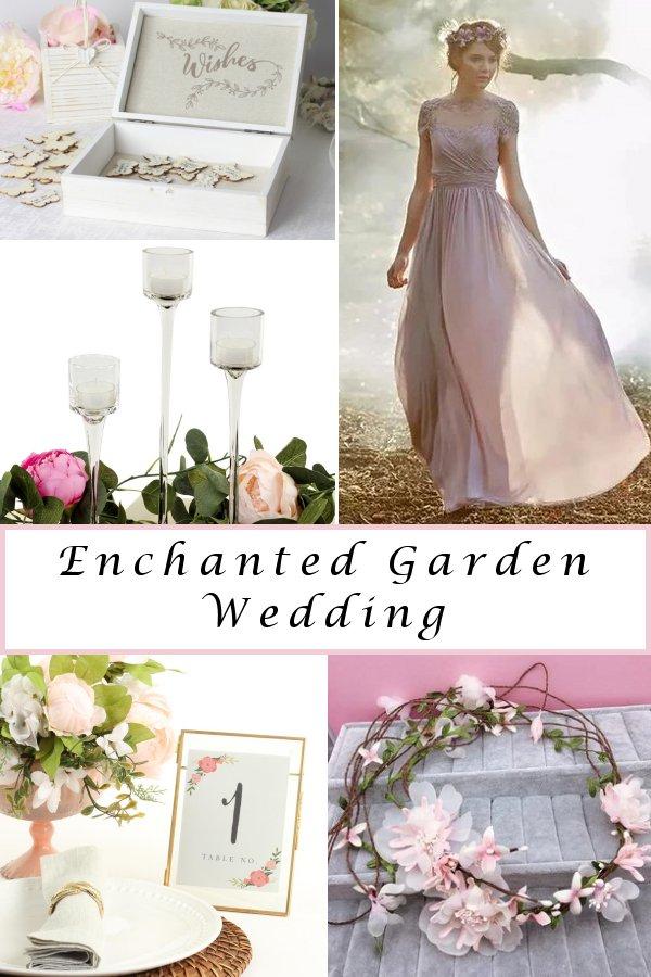 Enchanted Garden Wedding Theme Wonderful Inspiration -WeddingConnexion.com
