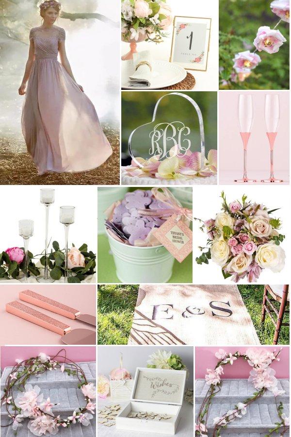 The Enchanted Garden Wedding Theme is so Romantic! WeddingConnexion.com