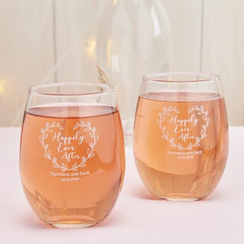 Multi-Function Favor Personalized Stemless Wine Glasses