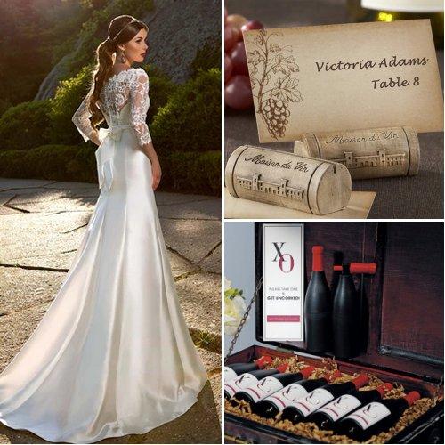 Rustic Vineyard Wedding Theme