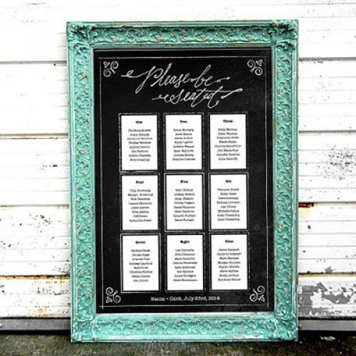 Easy Seating Chart Planning