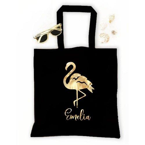 Let's Flamingle Bachelorette Party Tropical Tote Bag