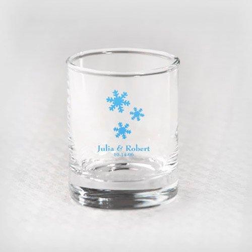 Holiday Shot Glass Votive Holder Favors