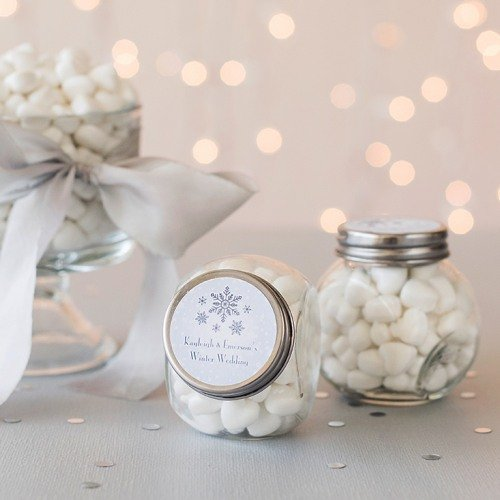 Personalized Candy Favor Jars