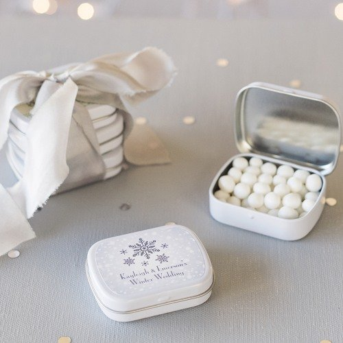 Personalized Mint Favor Tins