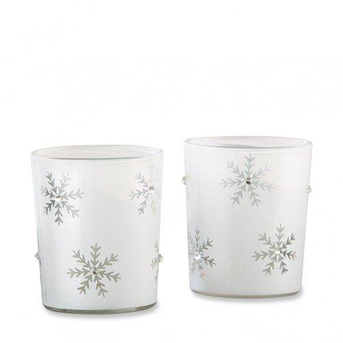 Snowflake Tealight Holder Favors