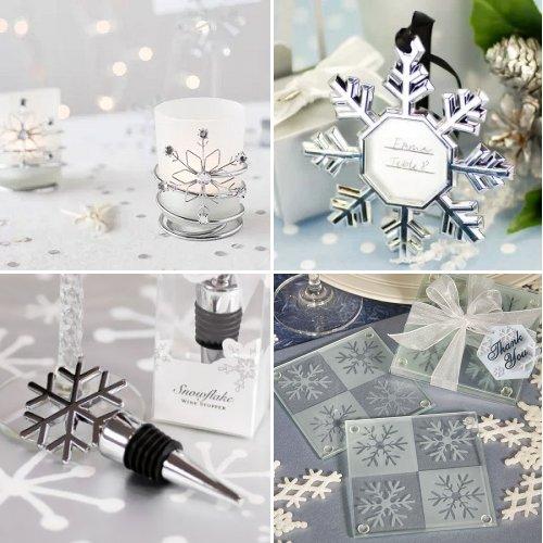 Winter Themed Wedding Favors