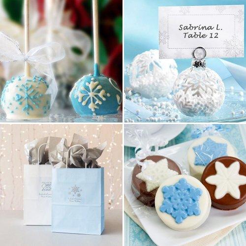 Winter Wonderland Wedding Favors