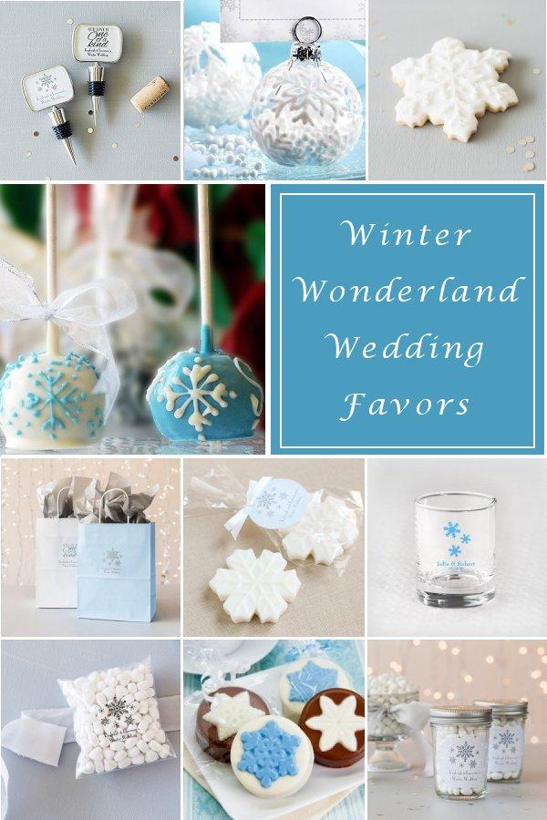 Winter Wonderland Wedding Favor Ideas from WeddinConnexion.com