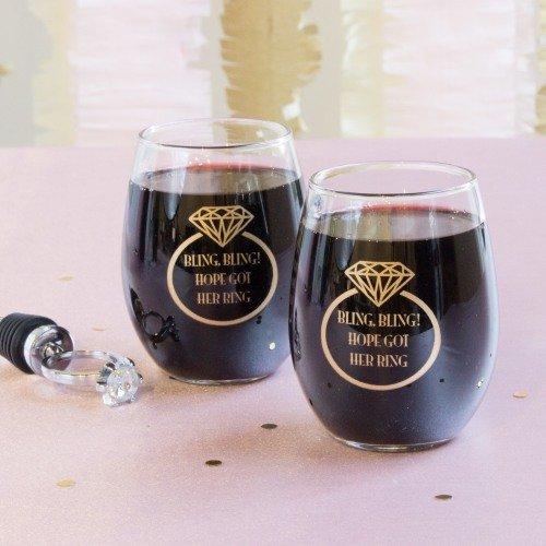 Stemless Wine Tasting Glasses